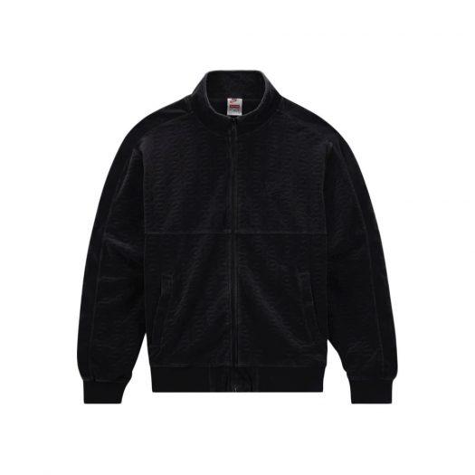 Supreme Nike Velour Track Jacket Black