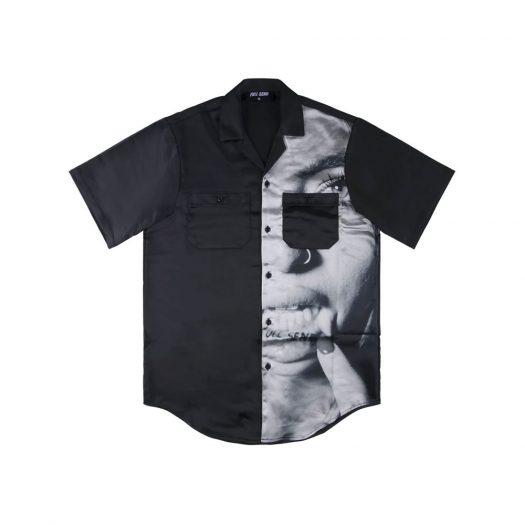 Full Send Silk Tattoo Shirt Black