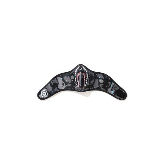Bape Space Camo Shark Mask (Fw20) Black