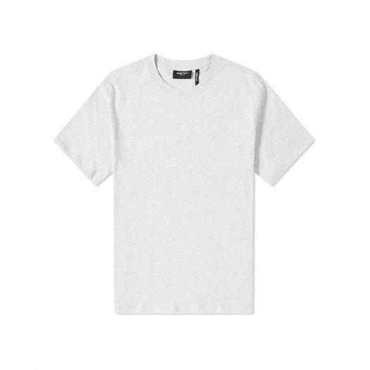 Fear Of God Essentials 3m Logo Boxy T-shirt Light Heather Grey/black