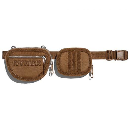adidas Ivy Park Sherpa Belt Bag Wild Brown