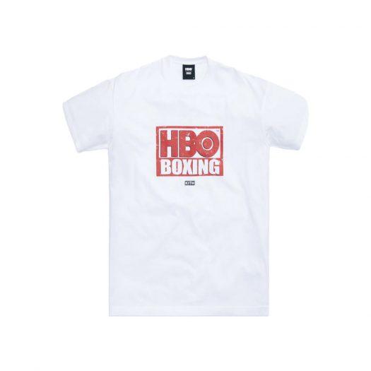 Kith HBO Boxing Vintage Tee White