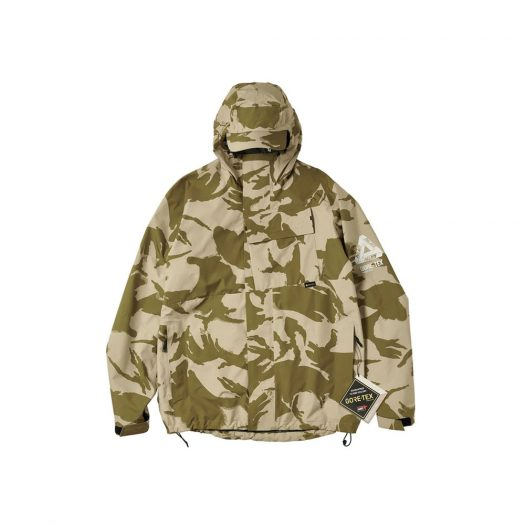 Palace Gore-Tex P Cap Jacket Desert DPM