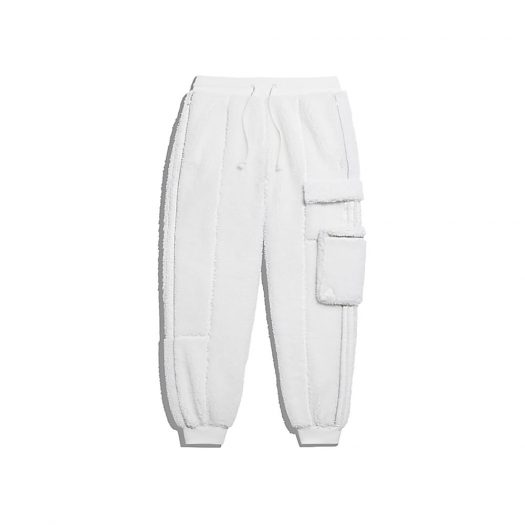 adidas Ivy Park Teddy Cargo Sweat Pants (All Gender) Core White