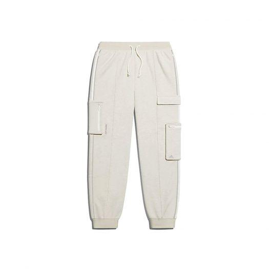 adidas Ivy Park Cargo Sweat Pants (All Gender) Cream Melange