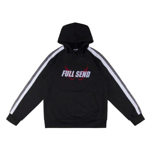 Full Send FS Sportswear Wing Hoodie Black
