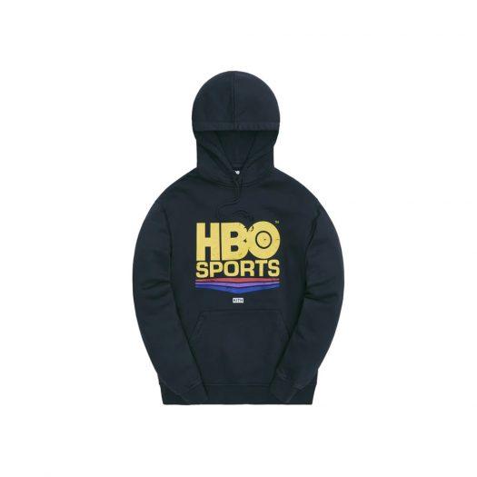 Kith HBO Sports Vintage Hoodie Black