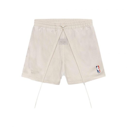 Fear Of God X Nike Basketball Shorts Light Cream