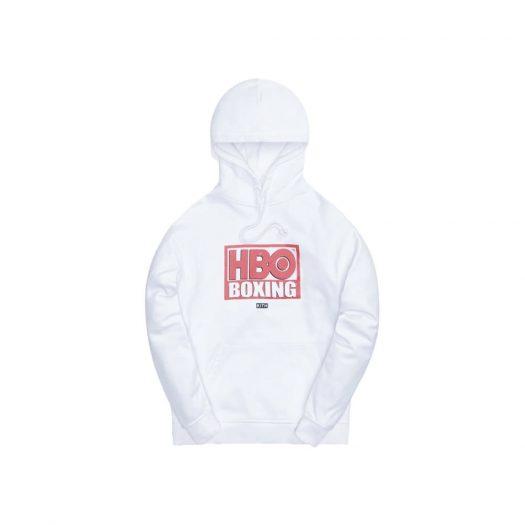 Kith HBO Boxing Vintage Hoodie White