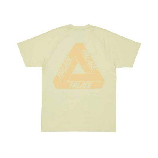 Palace adidas Stan Smith T-Shirt Yellow