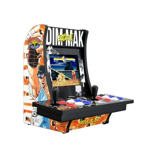 Arcade1UP Dim Mak Limited Edition Street Fighter II 2 Player Counter-Cade