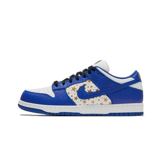 Nike SB Dunk Low Supreme Stars Hyper Royal (2021)