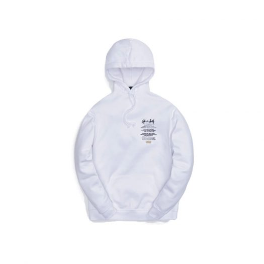 Kith The Notorious B.I.G Life After Death Hoodie White