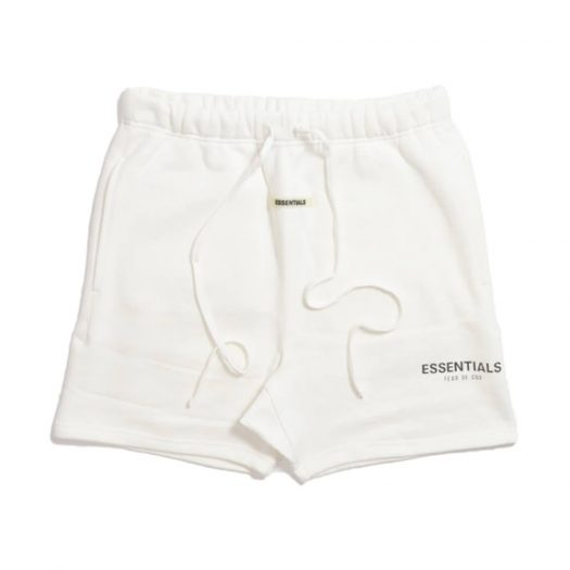 FEAR OF GOD ESSENTIALS Sweat Shorts White