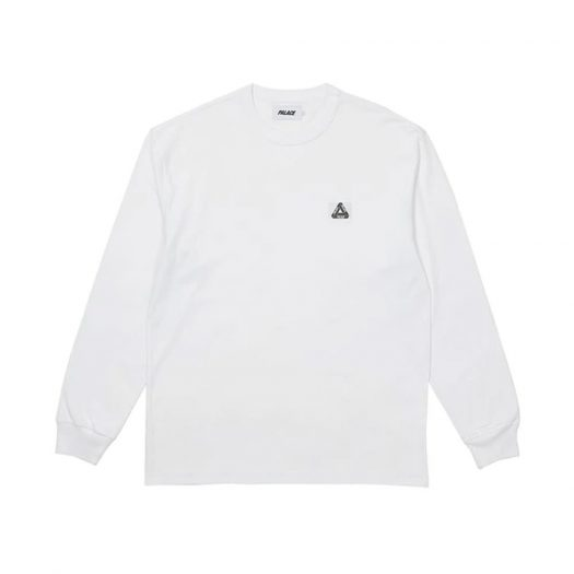 Palace Square Patch Longsleeve White