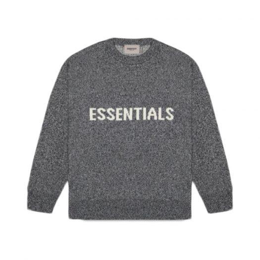 Fear Of God Essentials Knit Sweater Dark Slate/stretch Limo/black