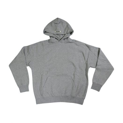 Fear Of God Essentials 3m Logo Pullover Hoodie Dark Heather Grey/grey