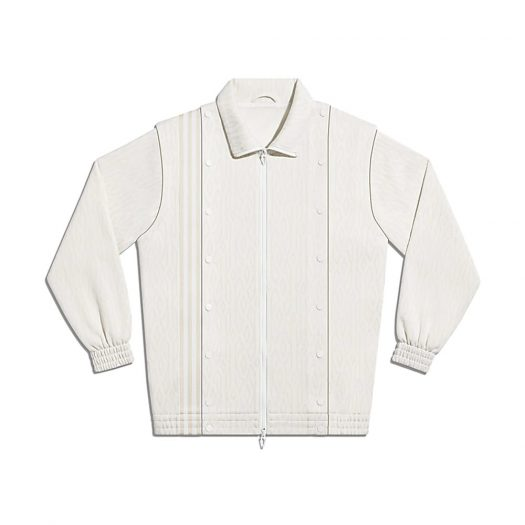 adidas Ivy Park Monogram Track Jacket (All Gender) Core White