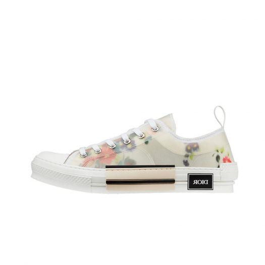 Dior B23 Low Top Flowers Oblique
