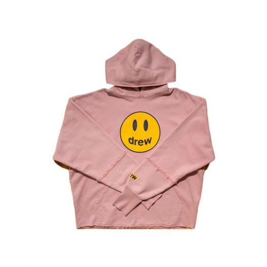 Drew House Mascot Deconstructed Hoodie Dusty Rose