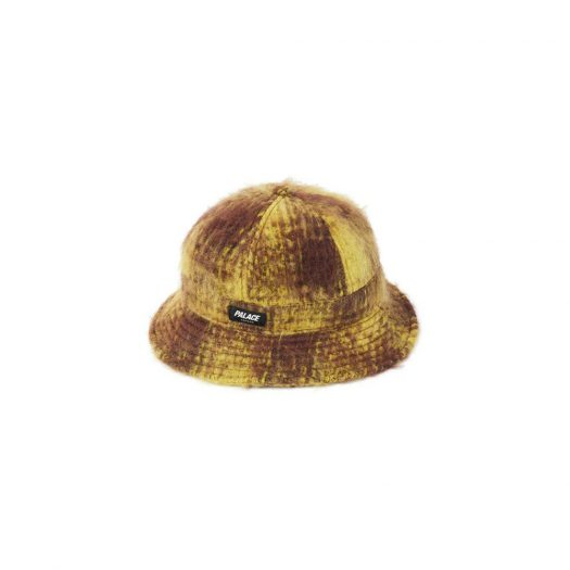 Palace Bless Up Wool Bucket Hat Brown/Yellow
