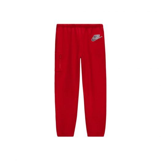 Supreme Nike Cargo Sweatpant Red
