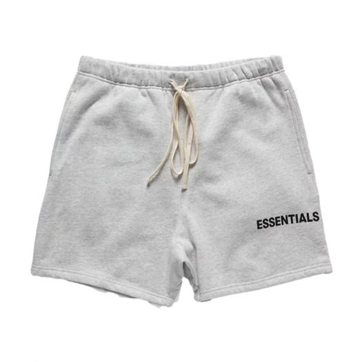 FEAR OF GOD Essentials Graphic Sweat (SS18) Shorts Grey