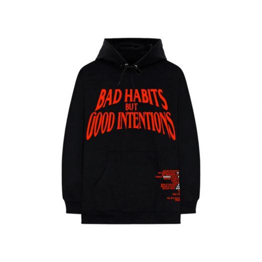 Nav x Vlone Bad Habits Hoodie Black