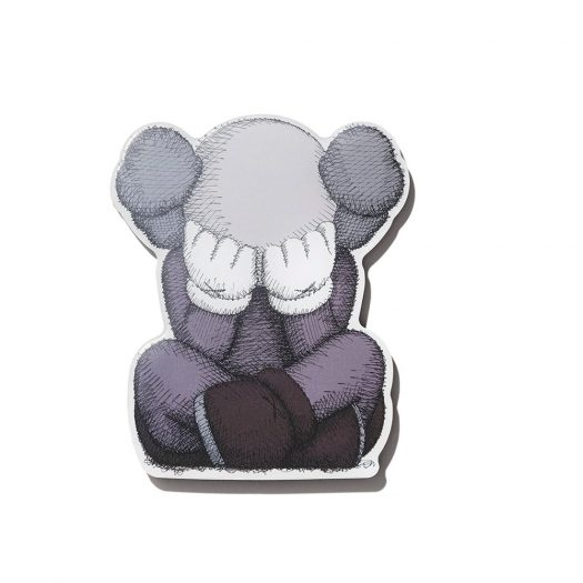 KAWS Brooklyn Museum WHAT PARTY SEPARATED Magnet Grey