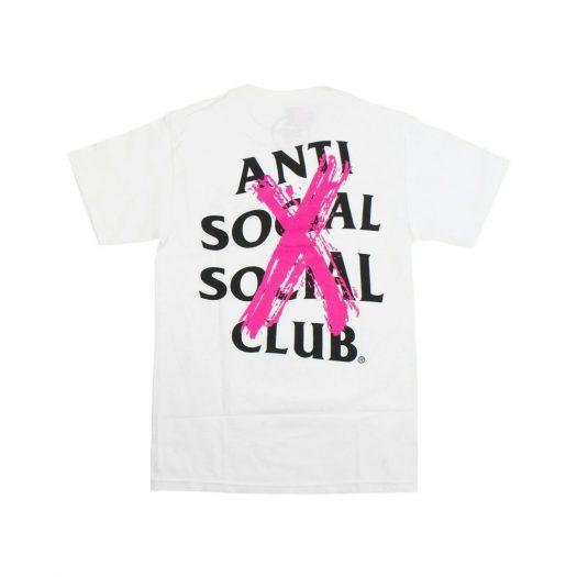 Anti Social Social Club Cancelled T-Shirt White