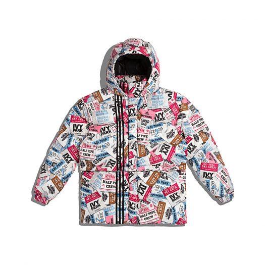 adidas Ivy Park Ski Tag Puffer Jacket (All Gender) Multicolor