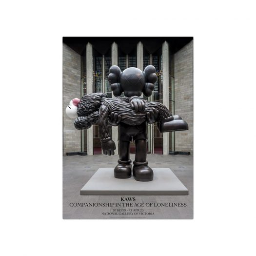 KAWS x NGV Exhibition Poster Gone