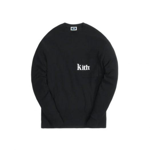 Kith Quinn L/S Tee Black