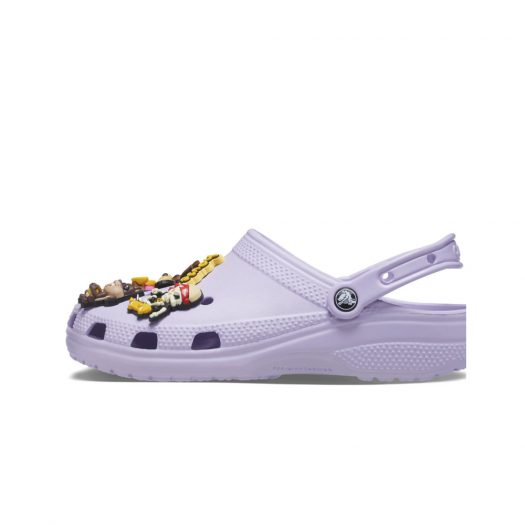 Crocs Classic Clog Justin Beiber with drew house 2 Lavender