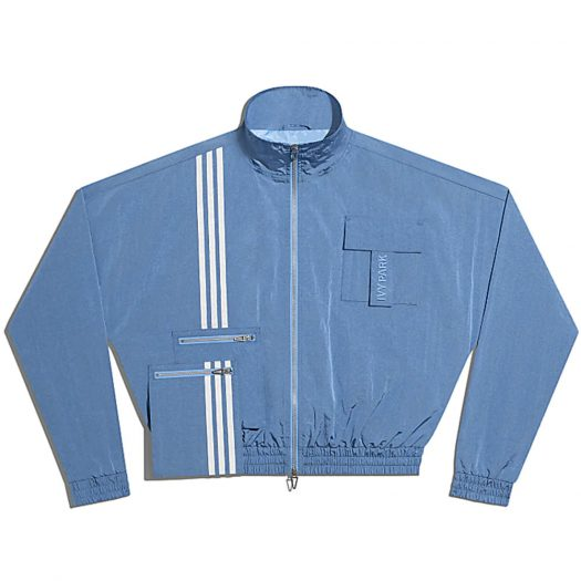 adidas Ivy Park Nylon Track Jacket (All Gender) Light Blue
