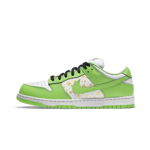 Nike SB Dunk Low Supreme Stars Mean Green (2021)
