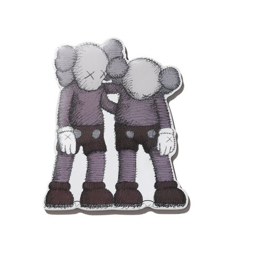 KAWS Brooklyn Museum WHAT PARTY ALONG THE WAY Magnet Grey