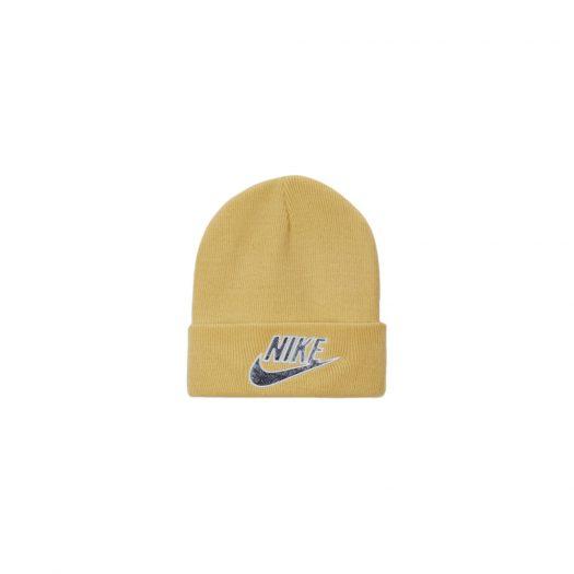 Supreme Nike Snakeskin Beanie Pale Yellow