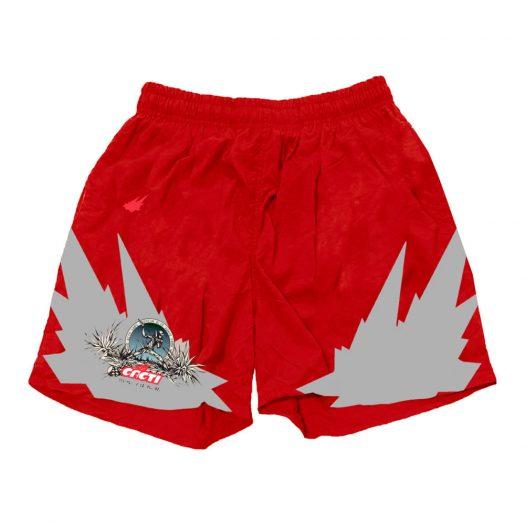 Travis Scott Cacti Heritage 3M Soccer Short I Red