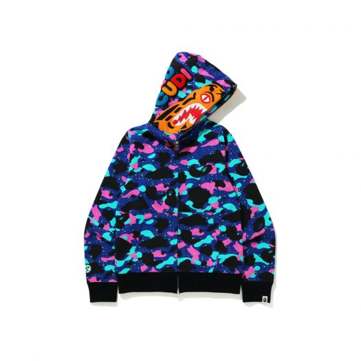 Bape X Kid Cudi Tiger Full Zip Hoodie Multi