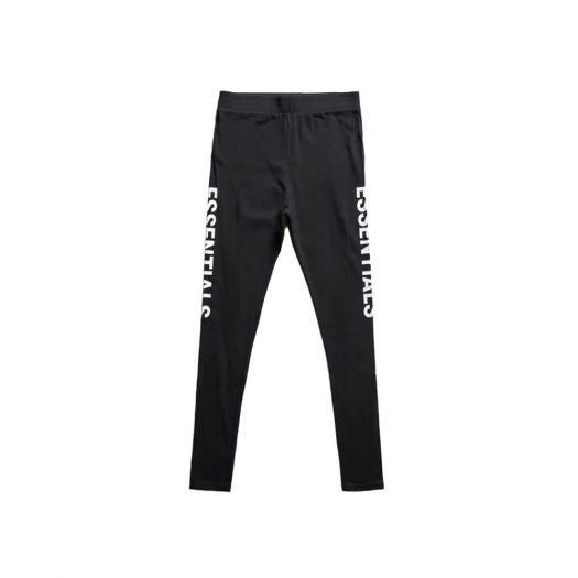 FEAR OF GOD Essentials Compression Pants Black