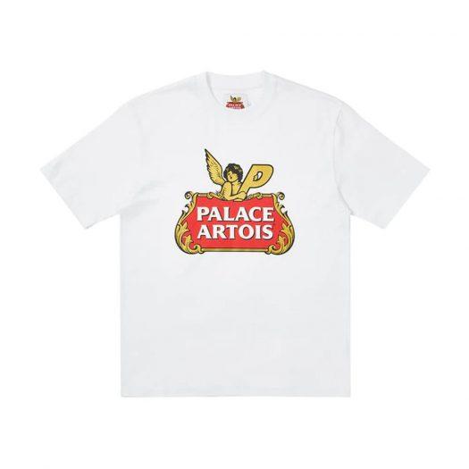 Palace Stella Artois Cartouche T-Shirt White