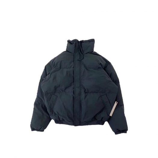 Fear Of God Essentials 3m Puffer Jacket Black Reflective