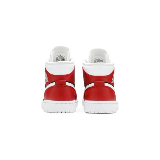 Jordan 1 Mid Gym Red Black (W)