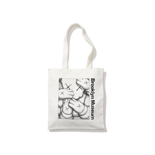 KAWS Brooklyn Museum Tote White