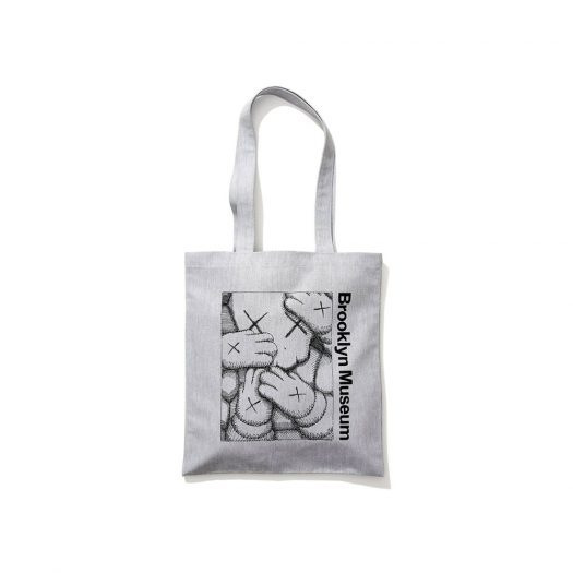 KAWS Brooklyn Museum Tote Grey