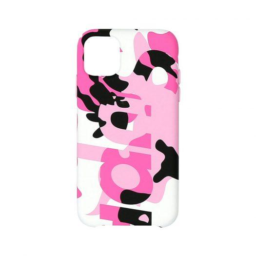 Supreme Camo iPhone Case Pink Camo