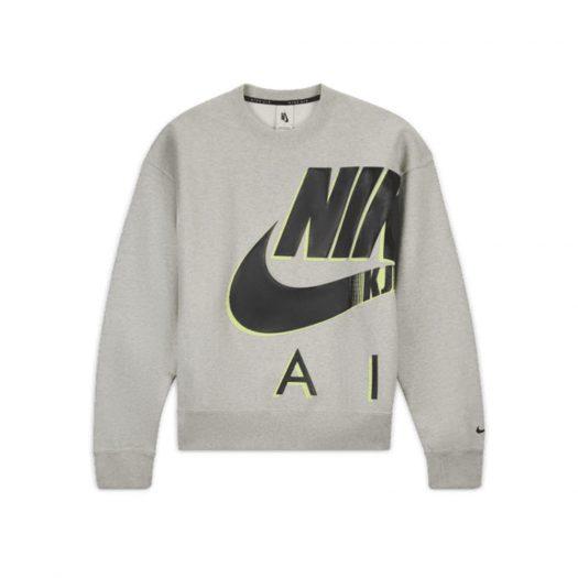 Nike x Kim Jones Fleece Crewneck Grey