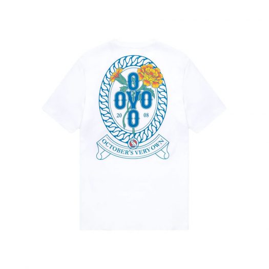 OVO Marigold Crest T-Shirt White