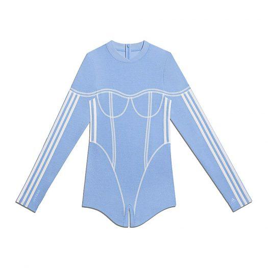 adidas Ivy Park Terry Romper Light Blue